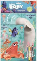 Disney Finding Dory colouring play pack (Code 3203)